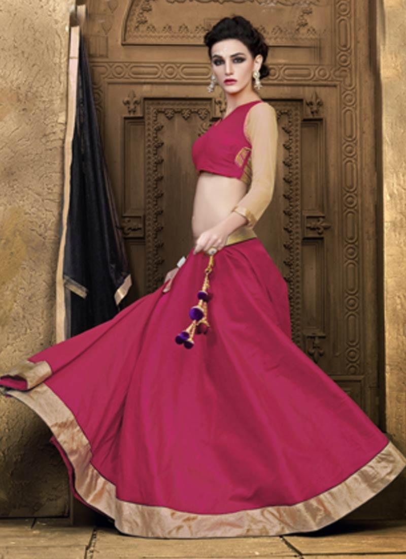 Honourable Art Raw Silk Party Wear Lehenga Choli
