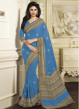 Honourable Faux Chiffon Contemporary Saree