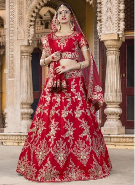 Honourable  Silk A Line Lehenga Choli