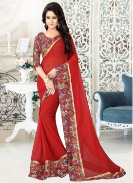 Hypnotic Contemporary Saree For Casual