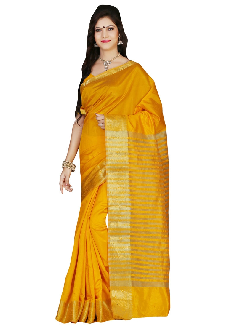 Immaculate Resham Work Casual Saree