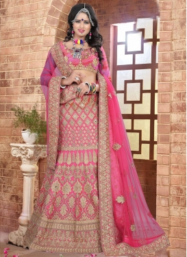 Immaculate Silk Trendy Designer Lehenga Choli For Bridal