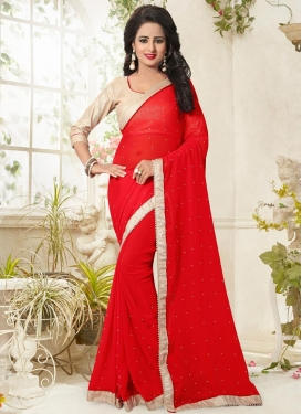 Imperial Beads Work  Classic Saree