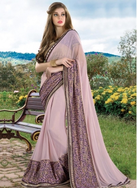 Imperial Faux Georgette Trendy Saree