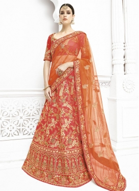 Imposing A Line Lehenga Choli For Bridal