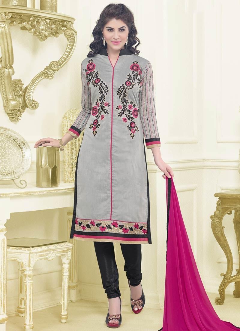 Imposing Chanderi Cotton Casual Salwar Kameez