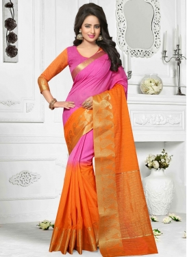 Imposing Resham Work  Traditional Saree