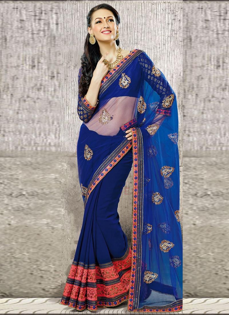 Incredible Beads Enhanced Casual Saree