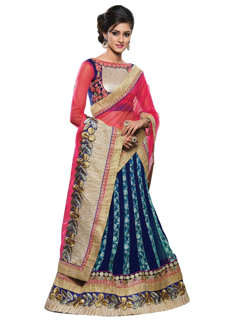 Incredible Patch Border Work Designer Lehenga Choli
