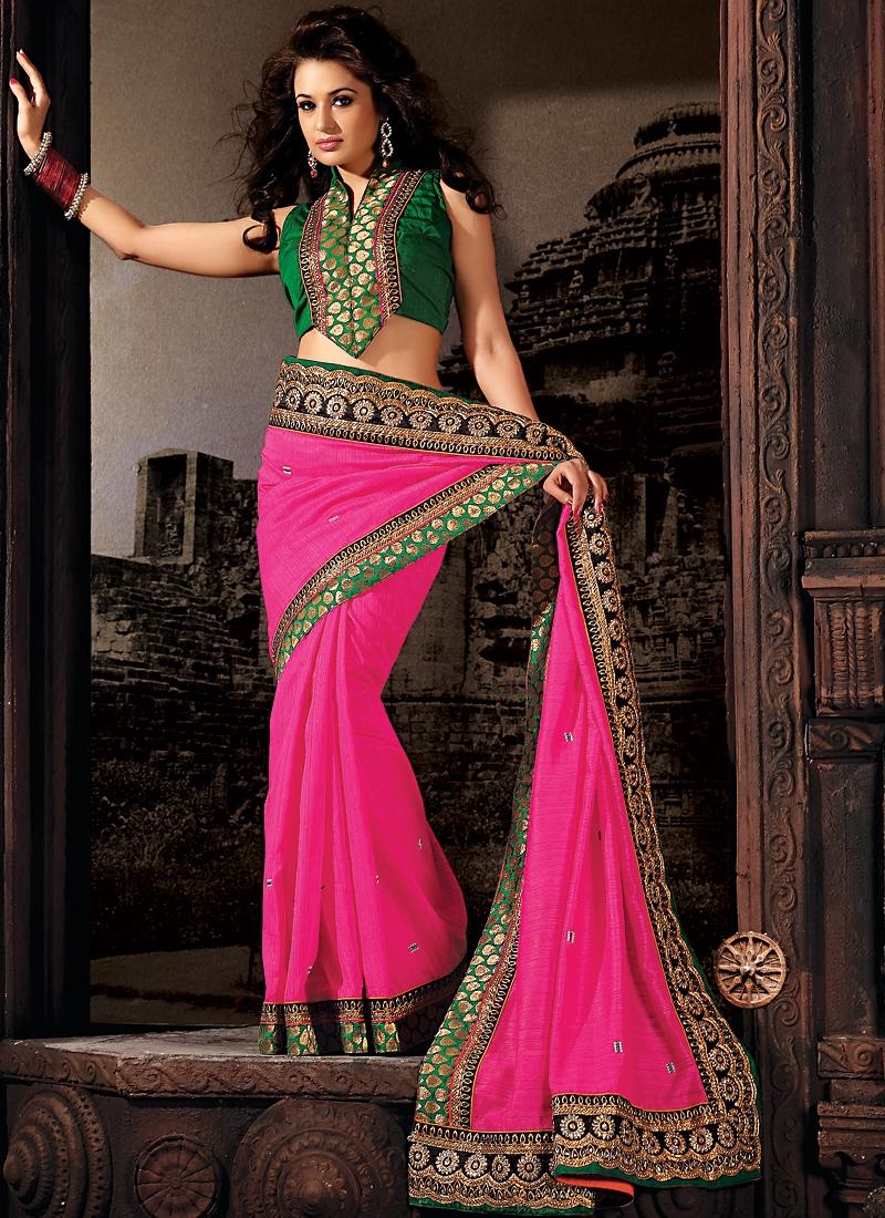 Innovative Banarasi Silk Resham Saree