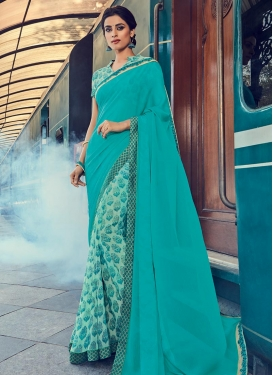 Integral Half N Half Trendy Saree