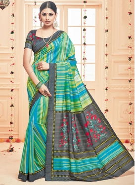 Intriguing  Art Silk Trendy Saree For Casual