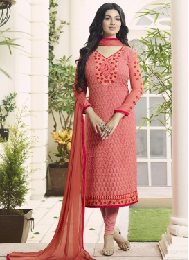 Intrinsic Ayesha Takia Pakistani Straight Salwar Kameez For Ceremonial