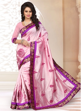 Intrinsic Booti Work Party Wear Saree
