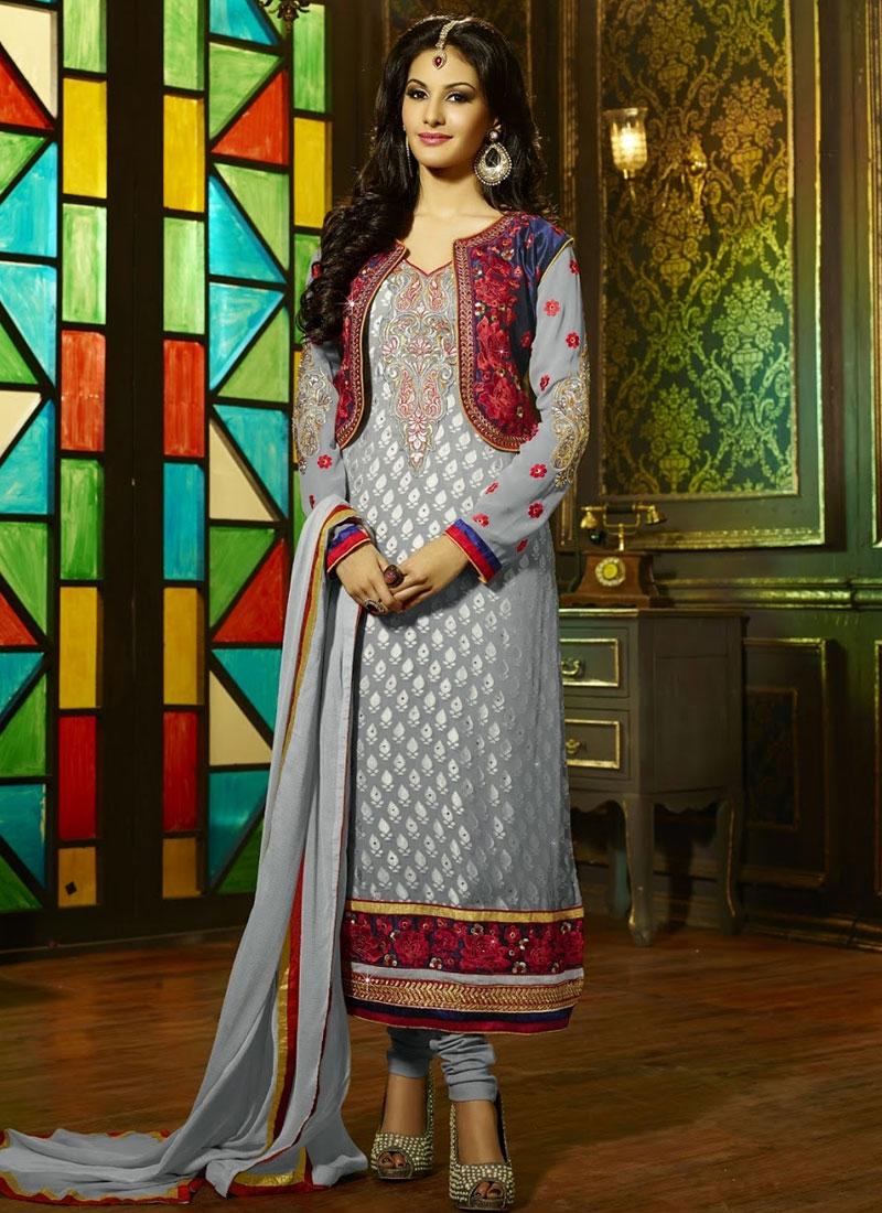 4b7b3e910b Intrinsic Jacket Style Punjabi Salwar Suit