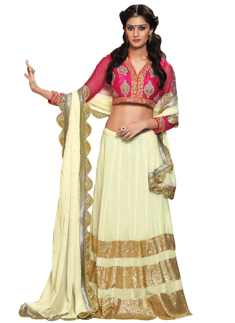 Intrinsic Sequins Work Party Wear Lehenga Choli