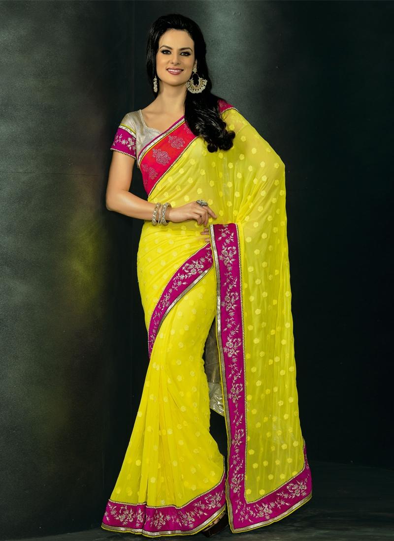 Invaluable Multi Enhanced Wedding Saree