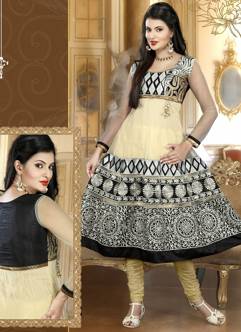 Invaluable Resham Enhanced Anarkali Suit