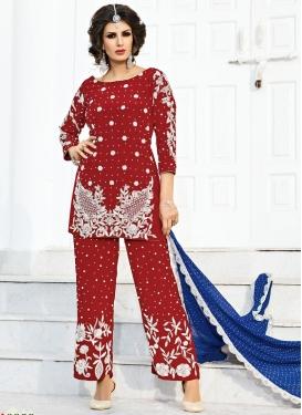 Irresistible Beads Work Pant Style Designer Salwar Kameez