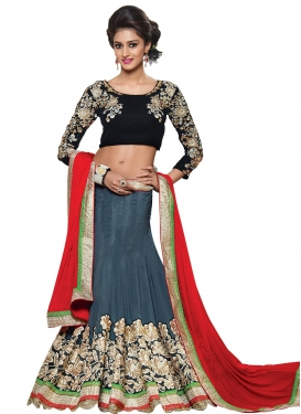 Irresistible Embroidery Work Designer Lehenga Choli