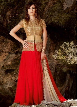 Irresistible Sequins Work Net Designer Lehenga Choli
