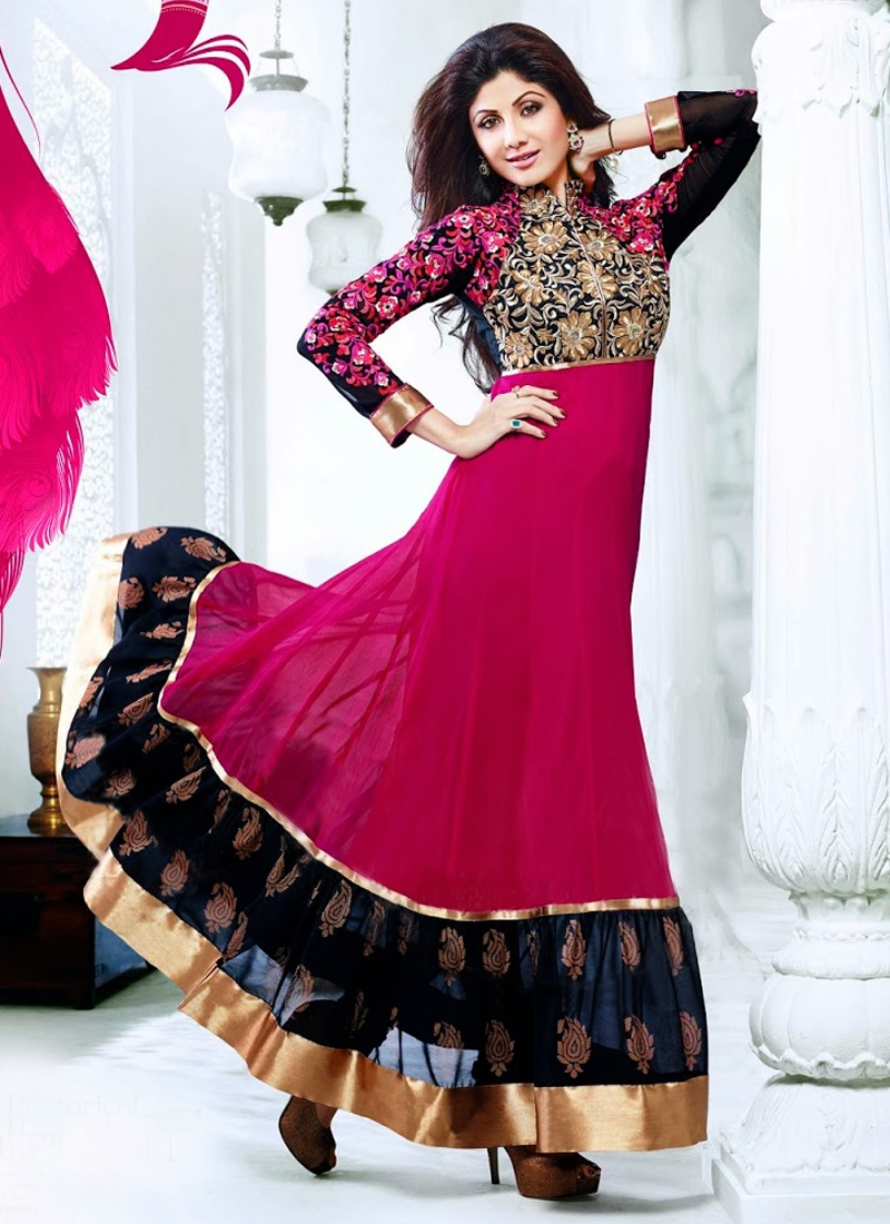Jaal Enhanced Shilpa Shetty Bollywood Suit