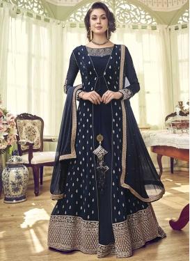 Jacket Style Salwar Kameez