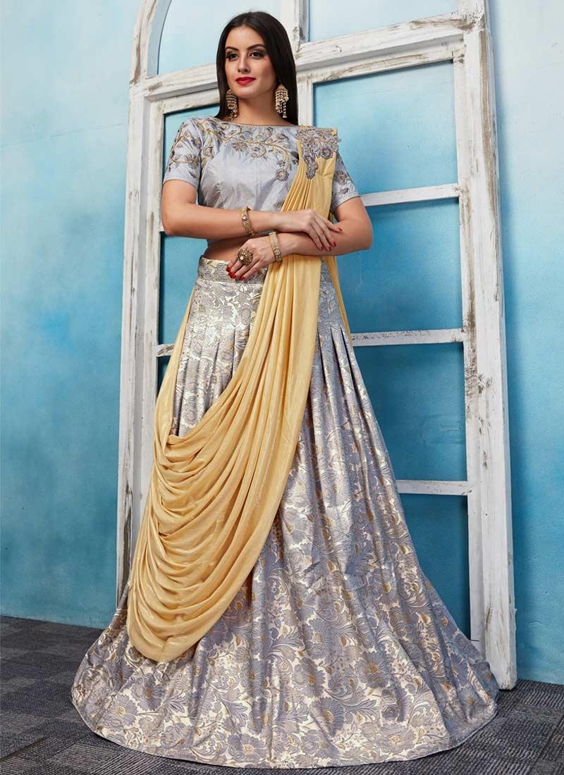 Jacquard Designer Classic Lehenga Choli