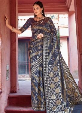 Jacquard Silk Classic Saree