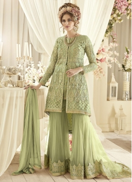Jacquard Silk Designer Salwar Kameez