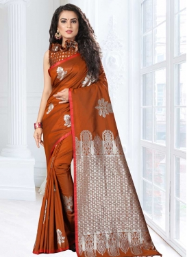 Jacquard Silk Thread Work Classic Saree