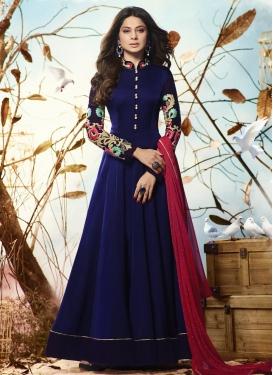 Jennifer Winget Trendy Anarkali Salwar Kameez For Festival