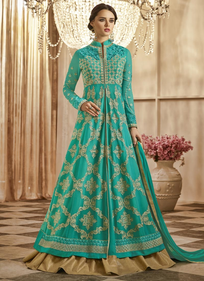 Kameez Style Lehenga For Ceremonial
