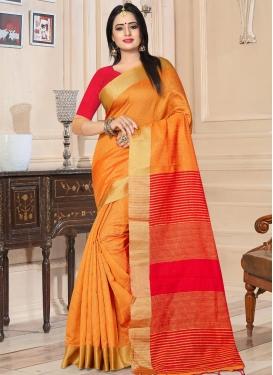 Kanjivaram Silk Contemporary Saree