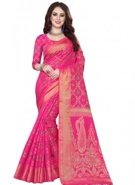 Kanjivaram Silk Contemporary Style Saree For Ceremonial