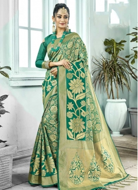 Kanjivaram Silk Designer Contemporary Saree