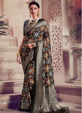 Kanjivaram Silk Designer Contemporary Saree