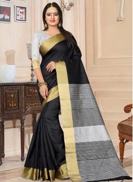 Kanjivaram Silk Thread Work Contemporary Style Saree