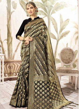 Kanjivaram Silk Thread Work Designer Traditional Saree