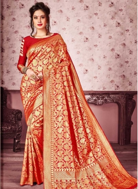 Kanjivaram Silk Traditional Designer Saree