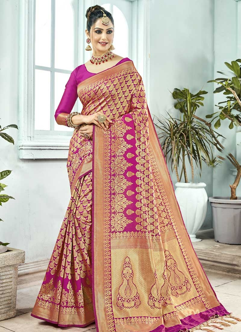 Kanjivaram Silk Trendy Saree