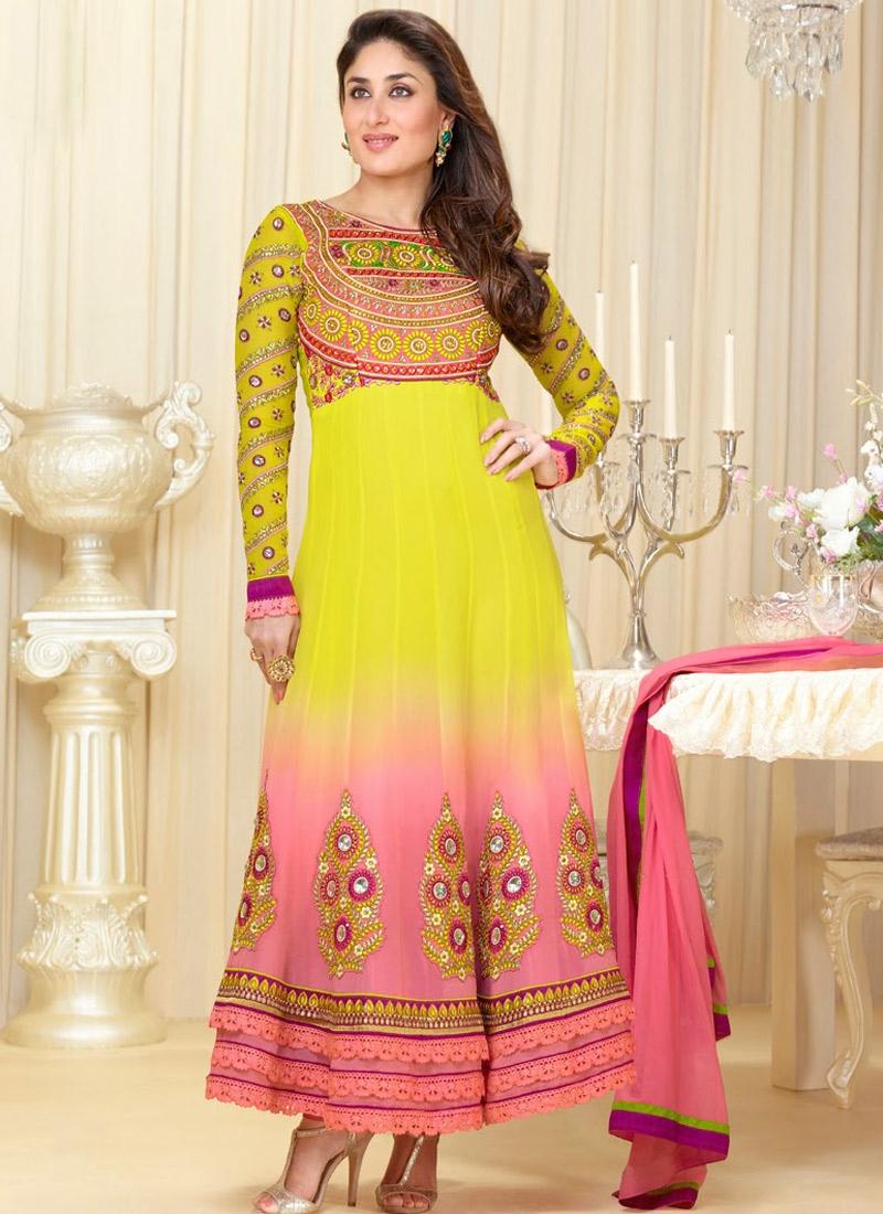 Kareena Kapoor Georgette Bollywood Suit