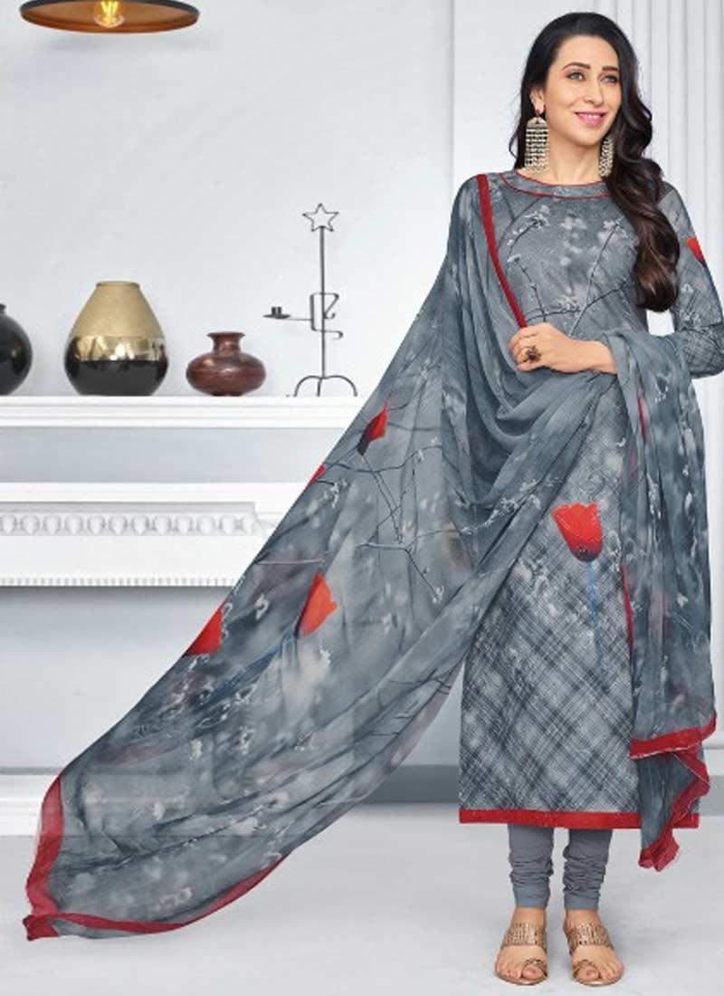 6b437dc621 Buy Karisma Kapoor Pakistani Straight Salwar Suit Online In UK