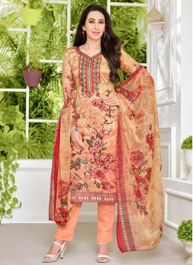 Karisma Kapoor Pant Style Designer Salwar Suit