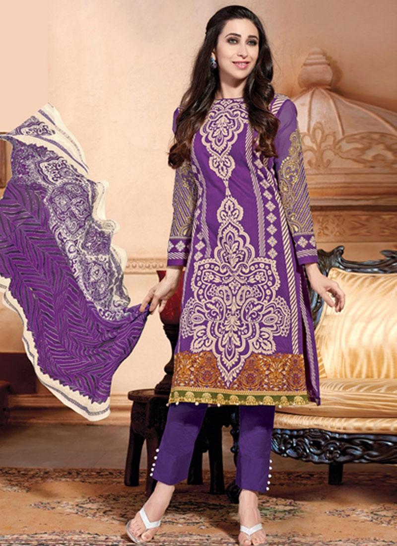 Kapoor Pant Style Punjabi Suit