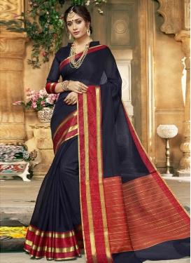 Khadi Silk Classic Saree For Casual