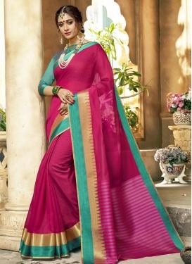 Khadi Silk Trendy Classic Saree