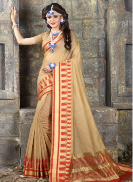 Khadi Silk Trendy Saree