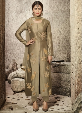 Krystle Dsouza Cotton Satin Trendy Designer Salwar Suit For Festival