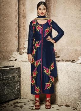 Krystle Dsouza Embroidered Work Trendy Designer Salwar Kameez